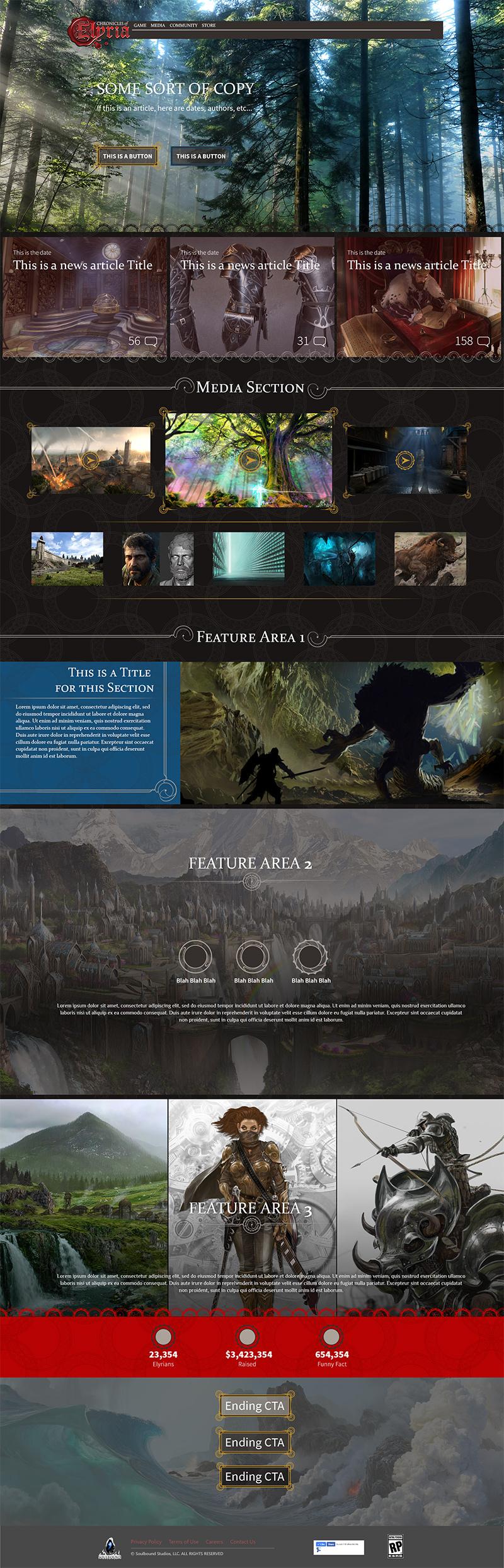 V3 Website MockUp