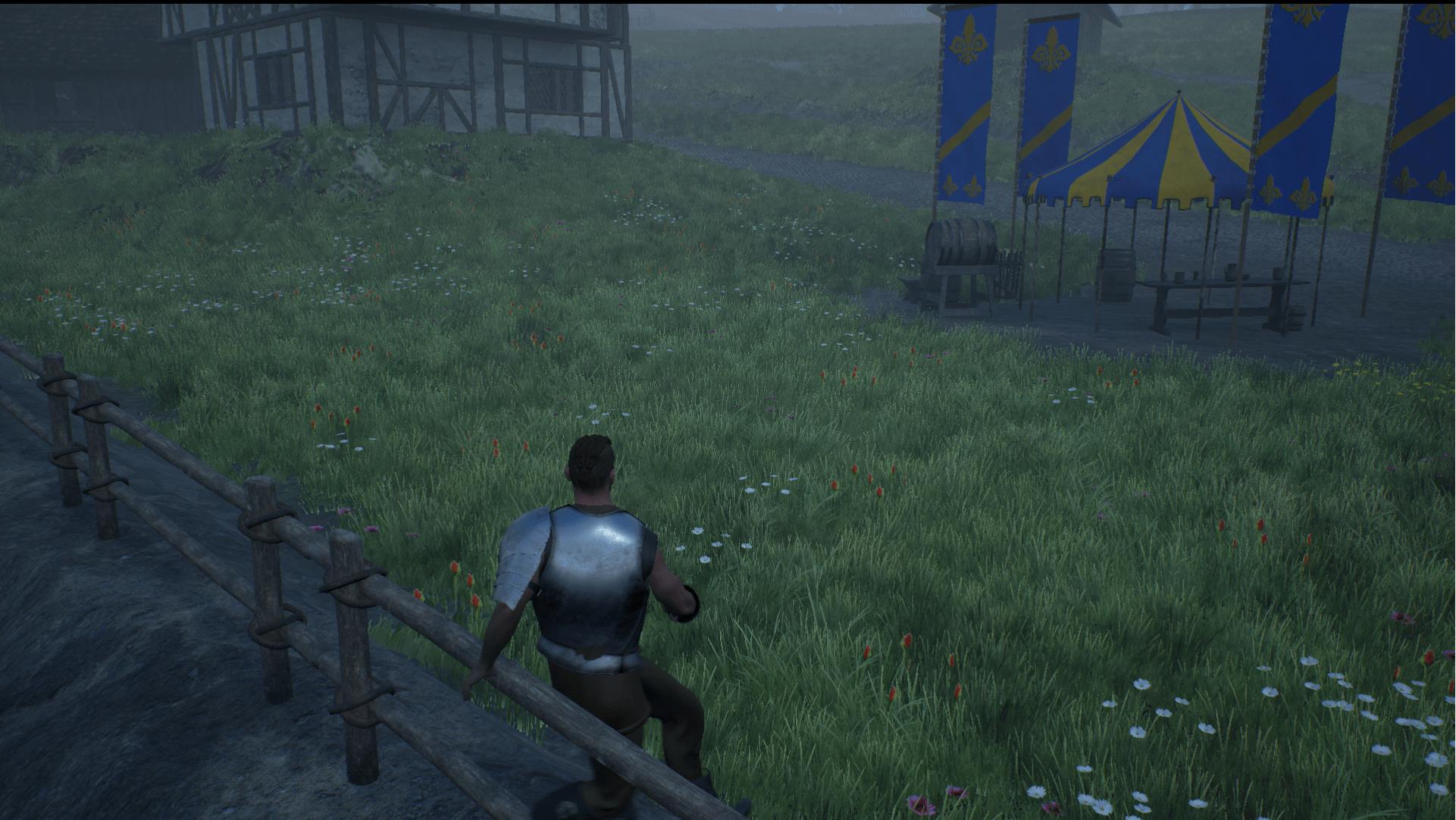 Keveth hops a fence
