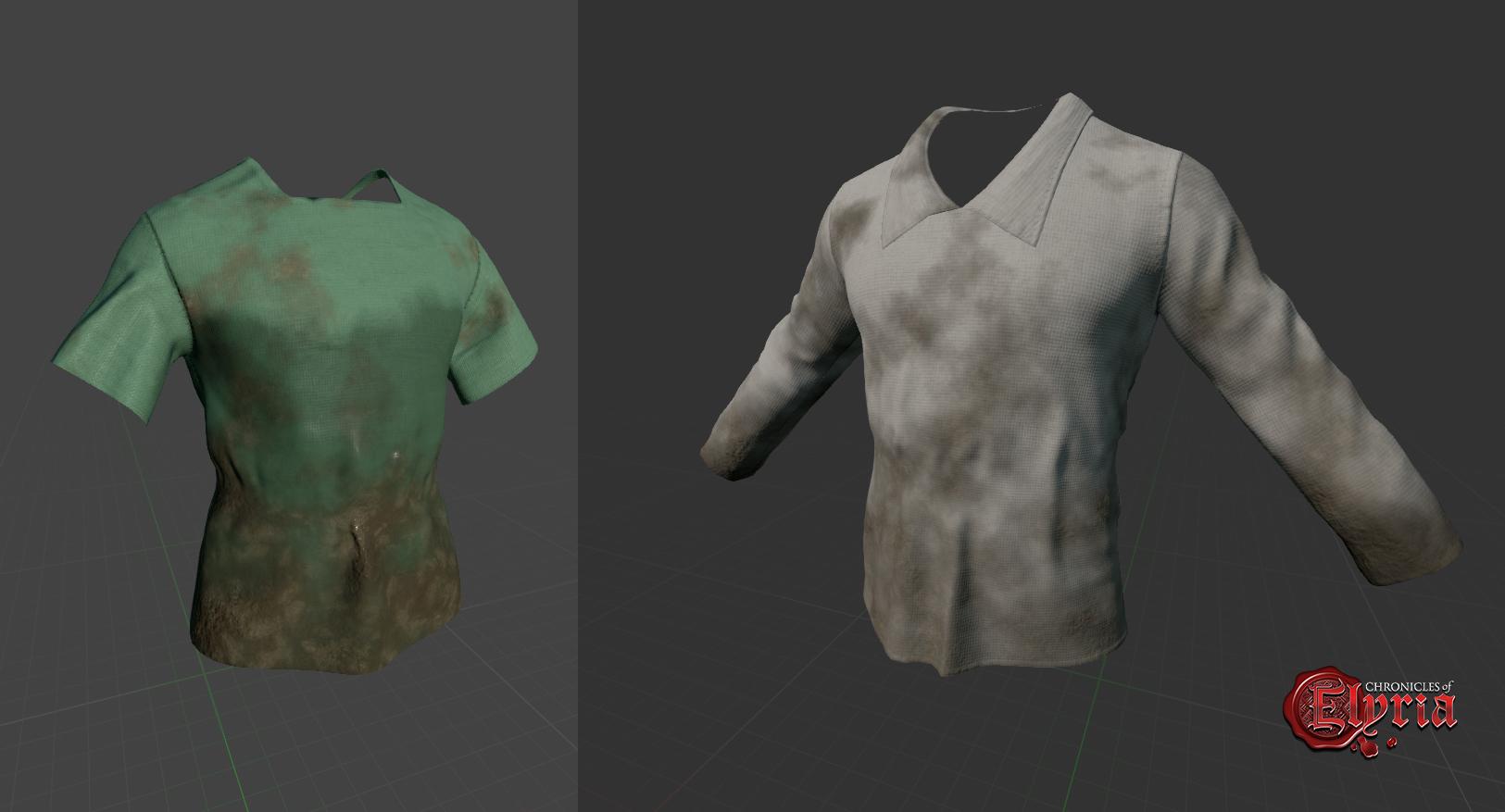 Diese dreckigen Hemden bräuchten mal ausgiebige Wäsche