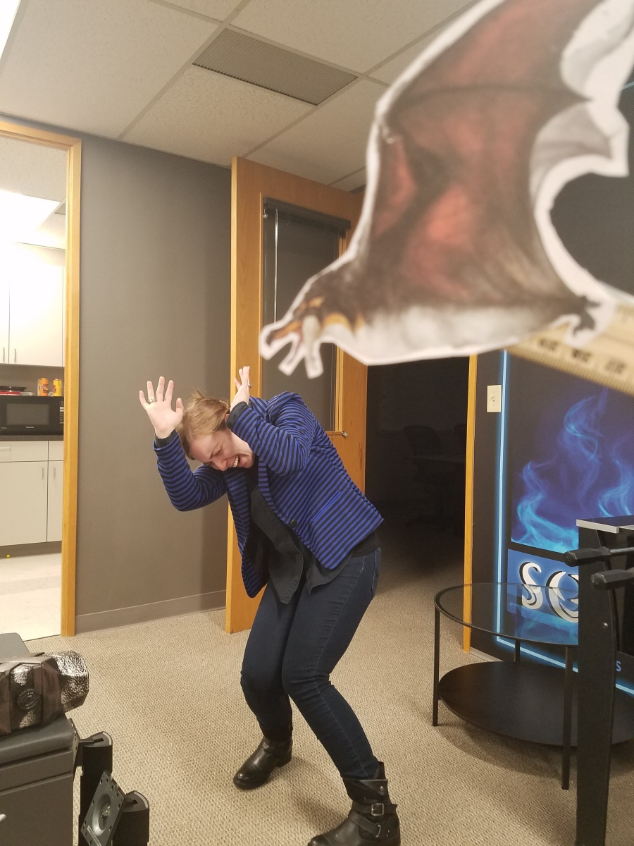 Oh no! Pteroguin attack!